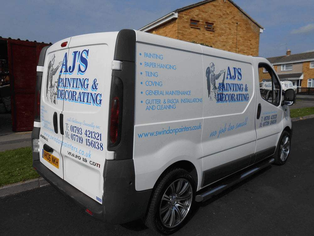 Swindon Painters Van